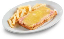 Sándwich de Jamón y Queso Gouda (1 pza.)