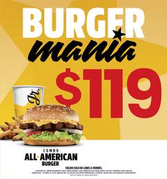 Combo All American Burger