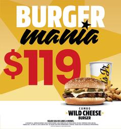 Combo Wild Cheese Burger