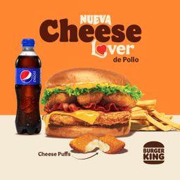 Exclusivo Rappi nueva Cheese Lover Crispy
