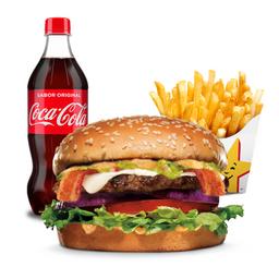 Combo Guacamole Burger