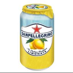 Lata san peregrino limonata
