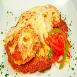 Milanesa de Pollo Parmesana