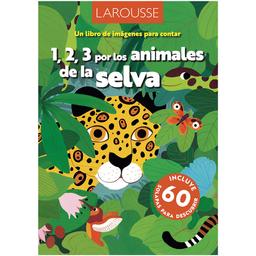 1;2;3 Por Animales de la Selva - Larousse
