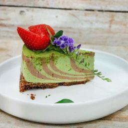 Keto Cheesecake Matcha Chocolate