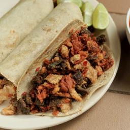 Tacos campechanos endiablados