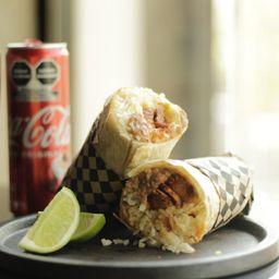 Combo Burrito y Refresco