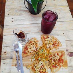Waffle de Pechuga de Pollo