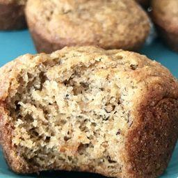 Muffin vegano de platano