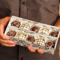 Esferas Noir Et Blanc Xocolat