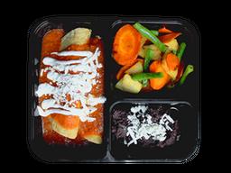 Enchiladas de Hongos Vegetariano