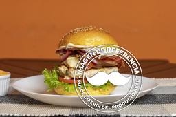 Hamburguesa Doble con Dos Ingredientes Extras