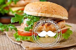 Hamburguesa Sencilla con Tres Ingredientes Extras