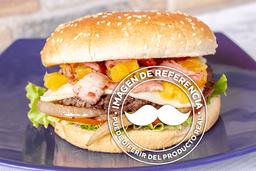 Hamburguesa con Tocino y Piña
