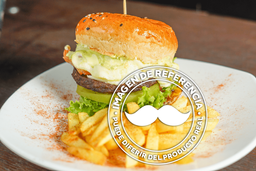 33% OFF Hamburguesa de Arrachera