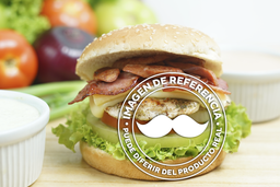 Hamburguesa Doble con Tres ingredientes Extras