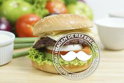 Hamburguesa Mexicana a la Parrilla