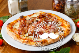 Pizza Pera y Tocino Grande