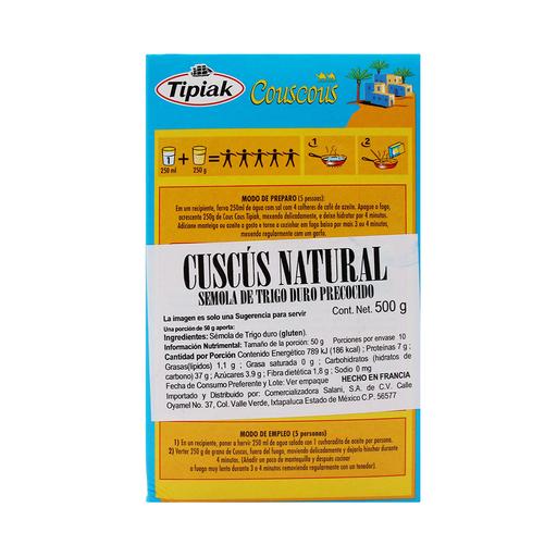 Cous Cous Tipiak Natural 500 g
