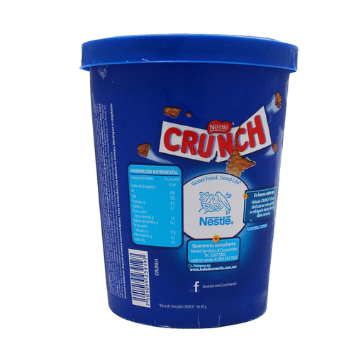 Helado Nestle Crunch Choco
