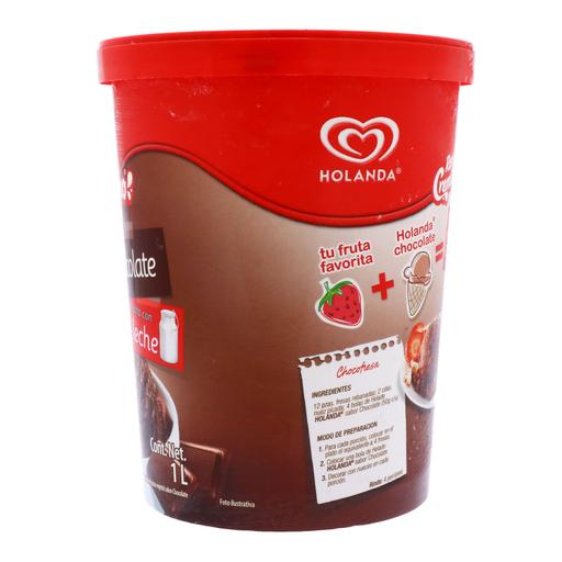 Helado Cremissimo Chocolate 1 L