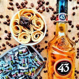 Helado de Licor 43, Café y Milkyway
