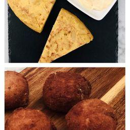 Combo Tortilla + Croquetas
