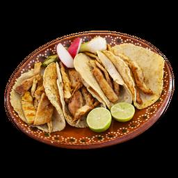 Orden Tacos Pollo