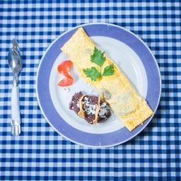 Omelette Flor de Calabaza