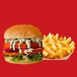 Blue Hot Burger