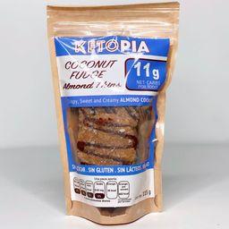 Ketopia Almond Thins Coconut Fudge