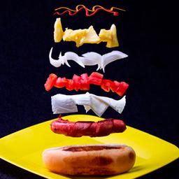 Hot dog hawaiano