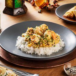 Curry Amarillo Camarón (Hindú Espeso)