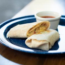 Burrito de Huevo a la Mexicana