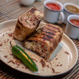 Burrito de Machaca con Huevo