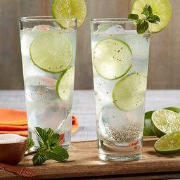 Agua Limón con Chía Grande