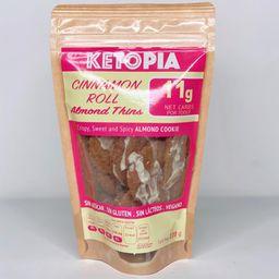 Ketopia Almond Thins Sweet Cinnamon
