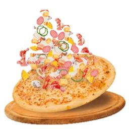Pizza Maestra con Ingredientes Ilimitados