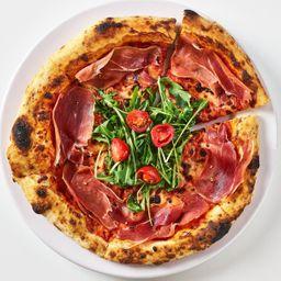 Pizze Rucola E Prosciutto