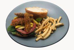 Sándwich de Aguacate Crispy