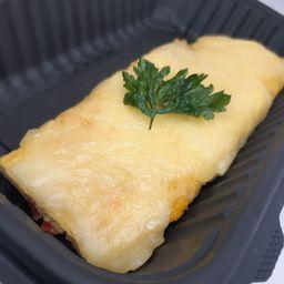 Omelette de Pimientos y Calabacita