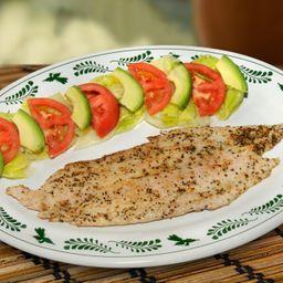 Filete de pescado pimienta-limón