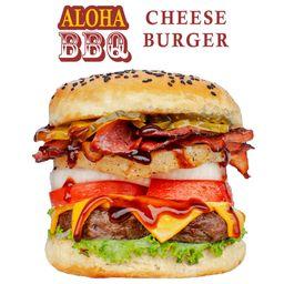 Hamburguesa Aloha BBQ