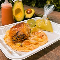 Orden de Tacos de Pieza de Pollo