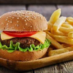 Combo Hamburguesa BBQ