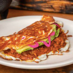 Omelette de Cochinita