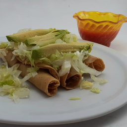 Tacos de Jicama Dorados