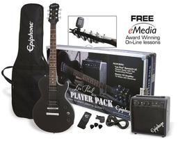 Epiphone Guitarra Eléctrica Les Paul Negra
