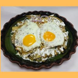 Chilaquiles con Porción de Carne