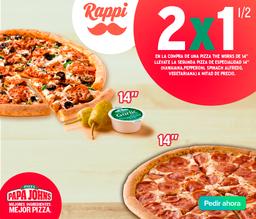 Promoción pizza The Works